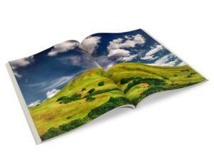 magazine, photo book, brochure