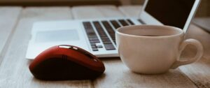mouse, cup, coffee
