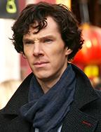 Benedict Cumberbatch filming Sherlock (Photo by Fat Les - bellaphon)