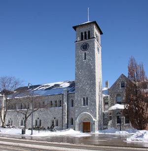 Queen's University in Kingston, ON