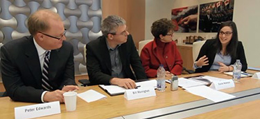 HR Reporter roundtable - Peter Edwards, Bill Murnighan, Elaine Newman and Anna Goldfinch
