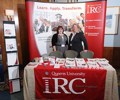 Queen's IRC at the Top Employer Summit