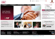 Queen's IRC has redesigned and launched its new website